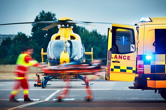 Paramedic Helicopter